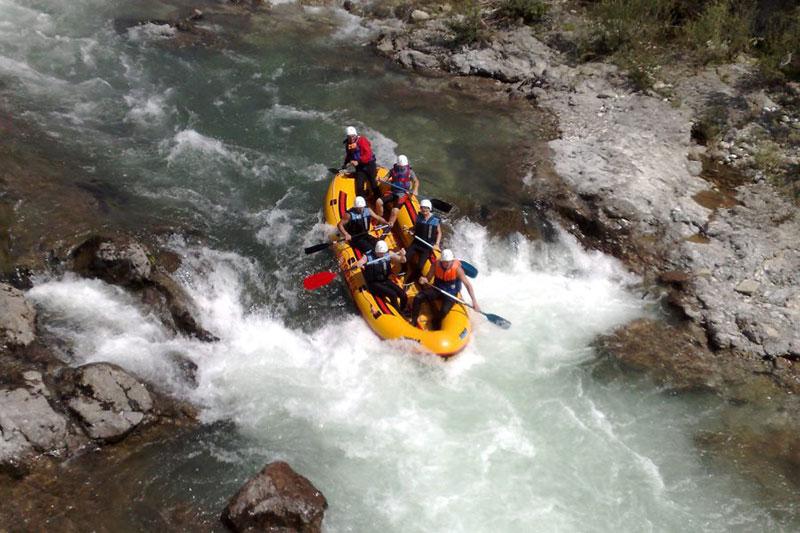 Sport center Prodnik - Rafting