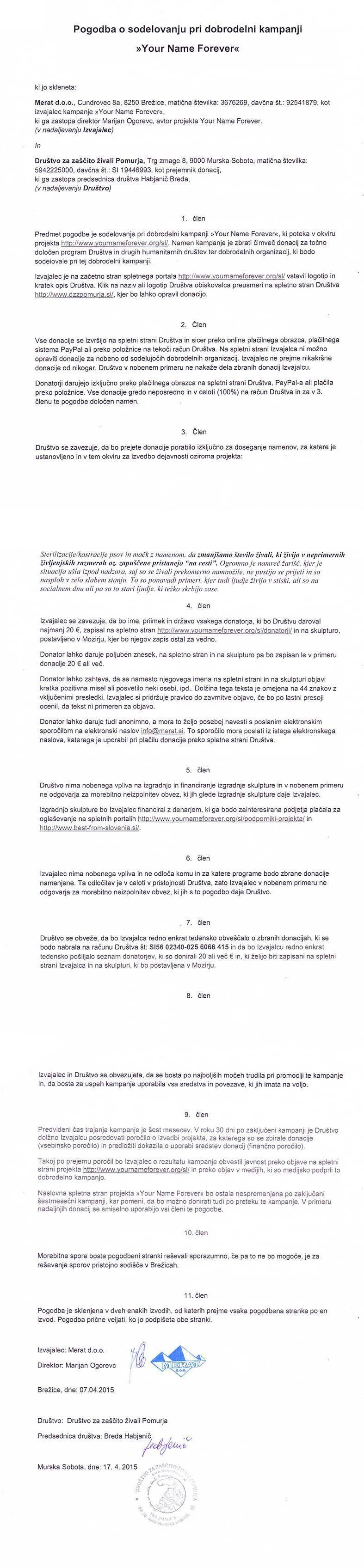 Pogodba-Zascita-zivali-Pomurja